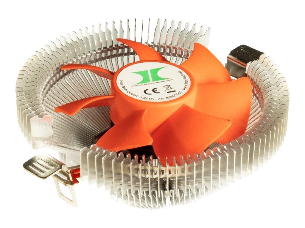 Inter-Tech DM-01 - Retail - Prozessor-Luftkühler - (für: LGA775, LGA1156, AM2, AM2+, AM3, LGA1155, AM3+, FM1, FM2, LGA1150, LGA1151, AM4, LGA1200)