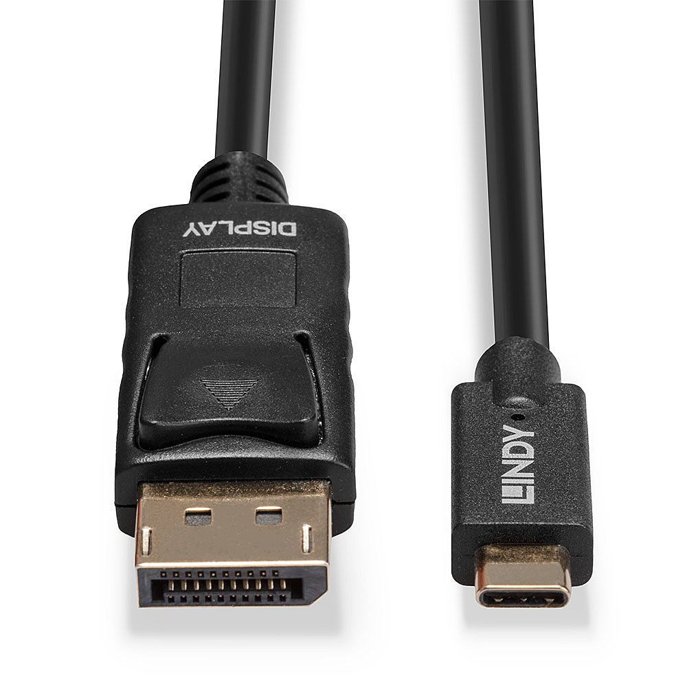 Lindy USB-/DisplayPort-Kabel - USB-C (M) bis DisplayPort (M)