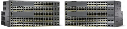 Cisco Catalyst 2960-x 48 GigE - Switch - 1.000 Mbps
