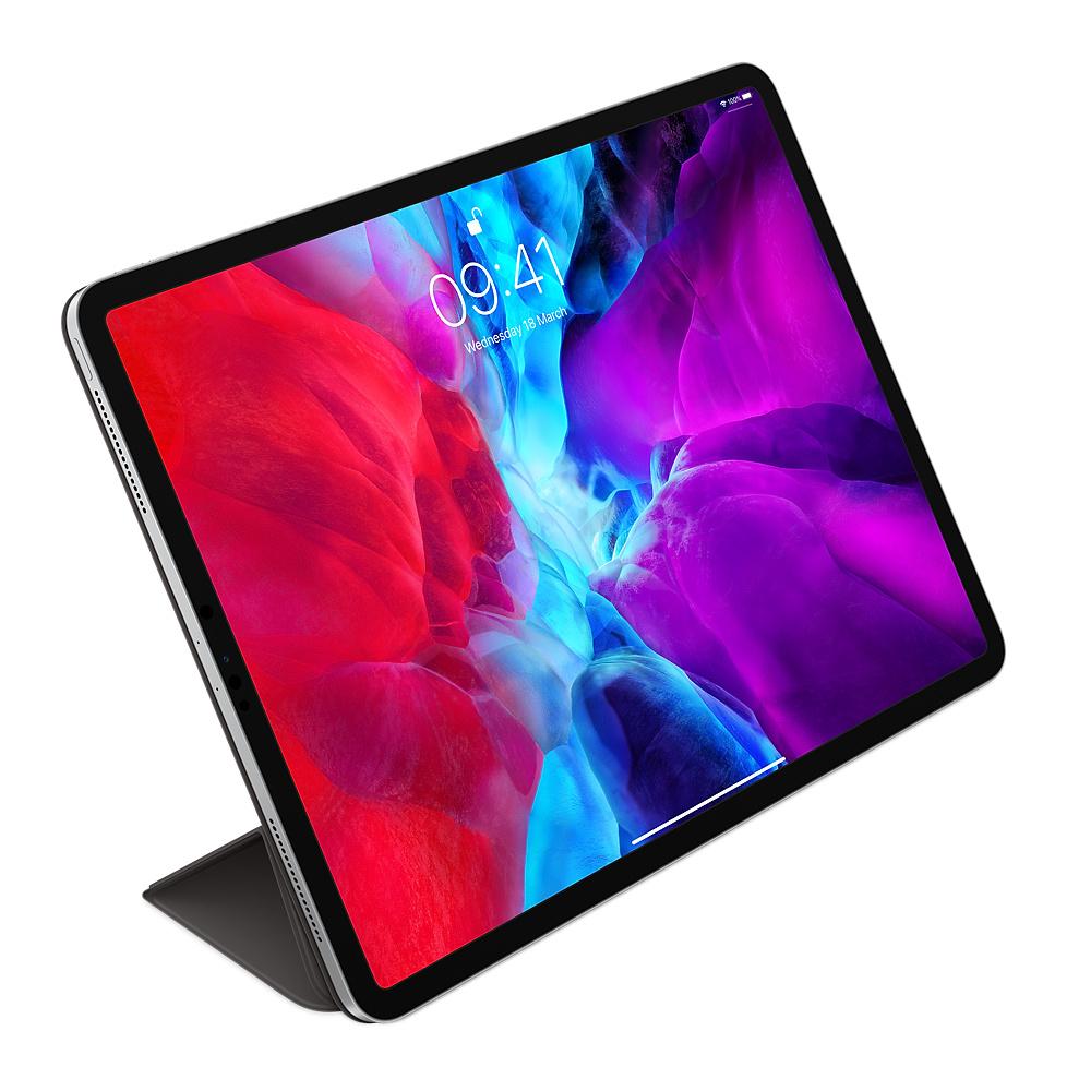 """Apple Smart Folio - Flip-Hülle für Tablet - Polyurethan - Schwarz - 12.9"""" - für 12.9-inch iPad Pro (3. Generation, 4. Generation)"""