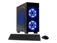 Striker 5841 blue - Midi Tower - 1 x Athlon II X4 950 / 3.5 GHz