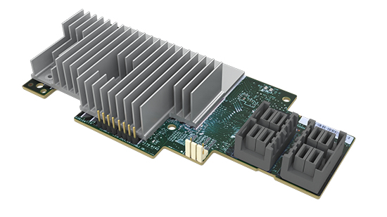 Intel RMS3VC160 PCI Express x8 3.0 12Gbit/s RAID-Controller