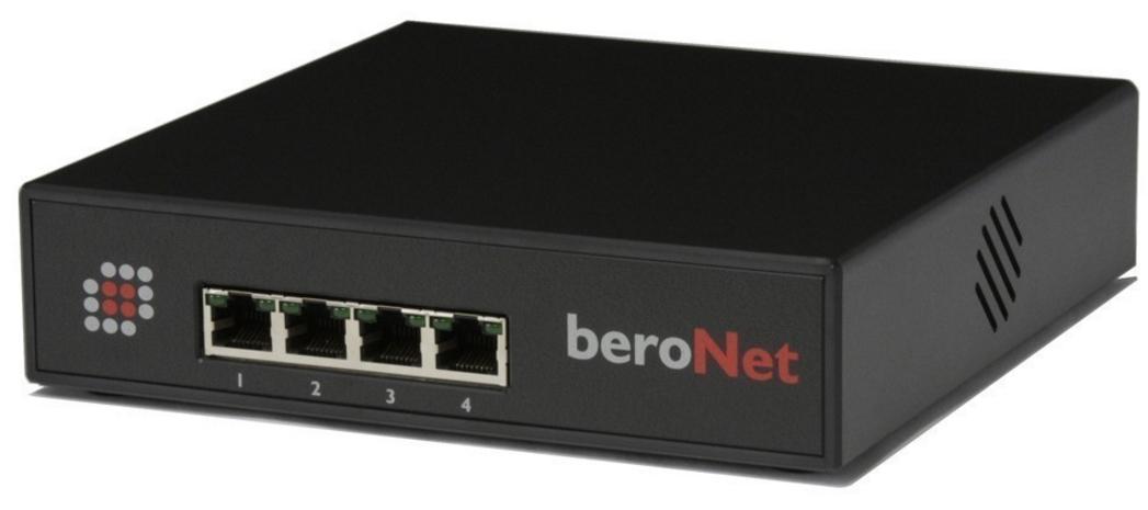 beroNet BFSB 2S0 - 10,100 Mbit/s - 500 g - 168 x 168 x 42 mm - 0 - 40 °C - -20 - 70 °C - Rackeinbau