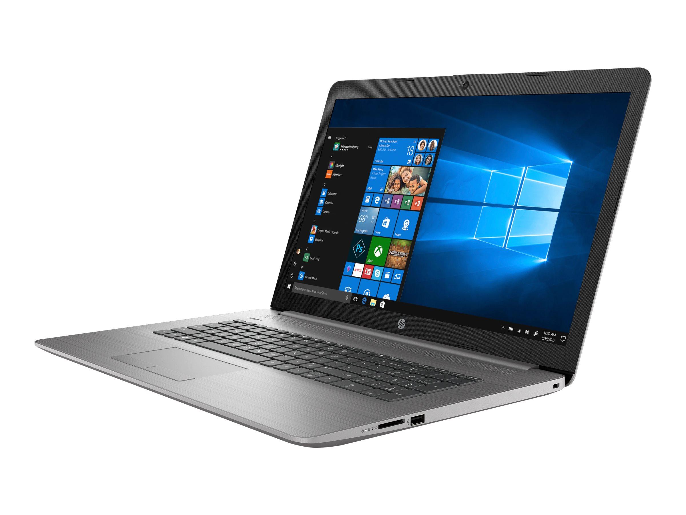 "HP 470 G7 - Core i7 10510U / 1.8 GHz - Win 10 Pro 64-Bit - 8 GB RAM - 256 GB SSD NVMe, TLC, HP Value - 43.9 cm (17.3"")"