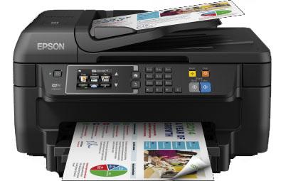 Epson WorkForce WF-2660DWF Tintenstrahldruck Fax - Farbig - 0,12 ppm - USB, USB 2.0