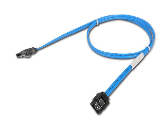 Chenbro Micom 26H12314604A0 - 0,65 m - SATA III - SATA 7-pin - SATA 7-pin - Männlich/Weiblich - Blau
