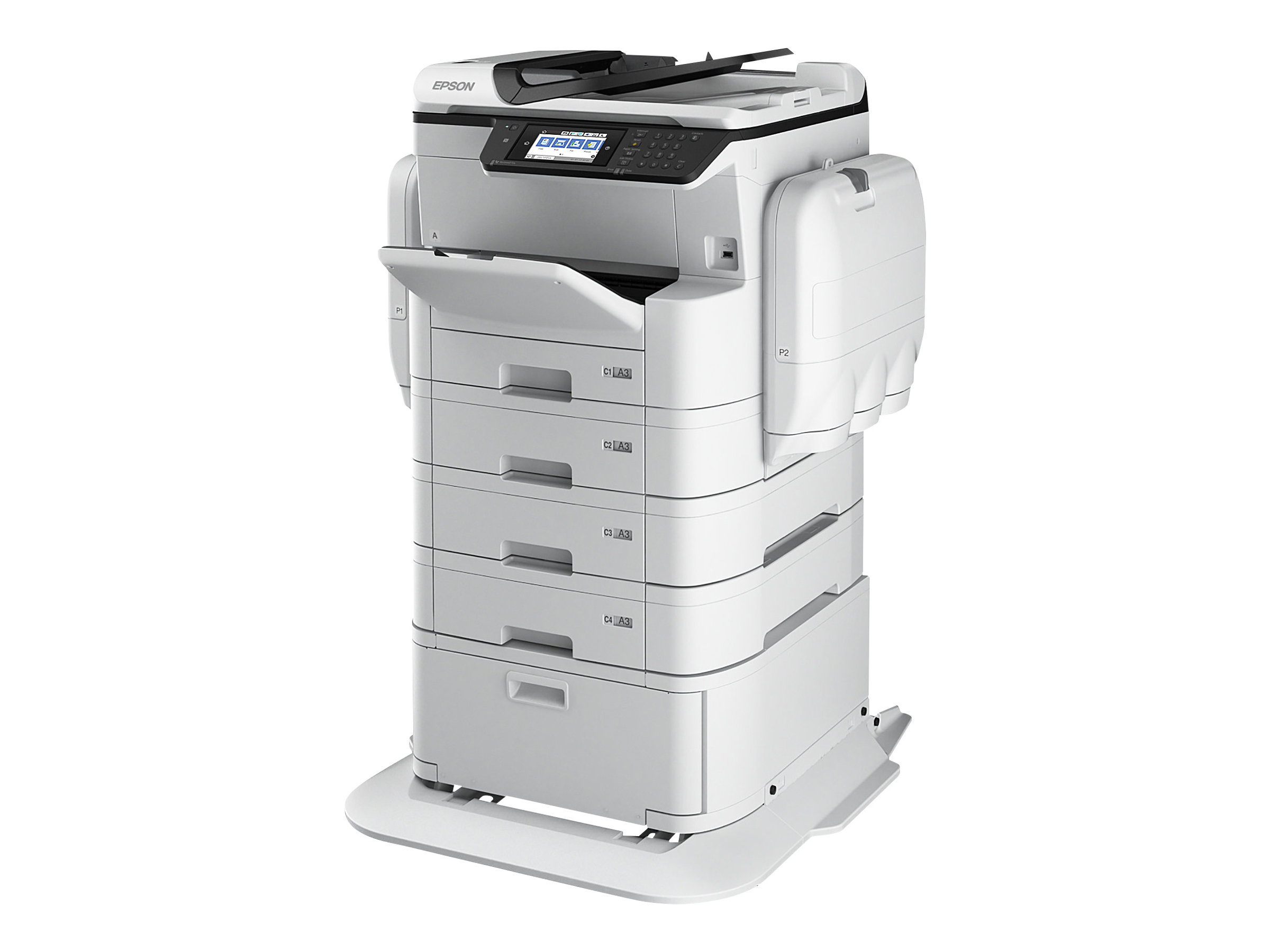 Epson WorkForce Pro WF-C869RD3TWFC - Multifunktionsdrucker - Farbe - Tintenstrahl - A3 (297 x 420 mm)