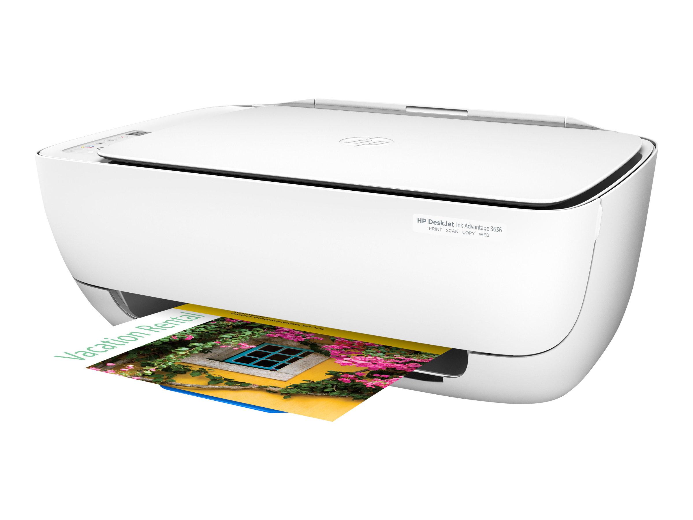 HP Deskjet 3636 All-in-One - Multifunktionsdrucker