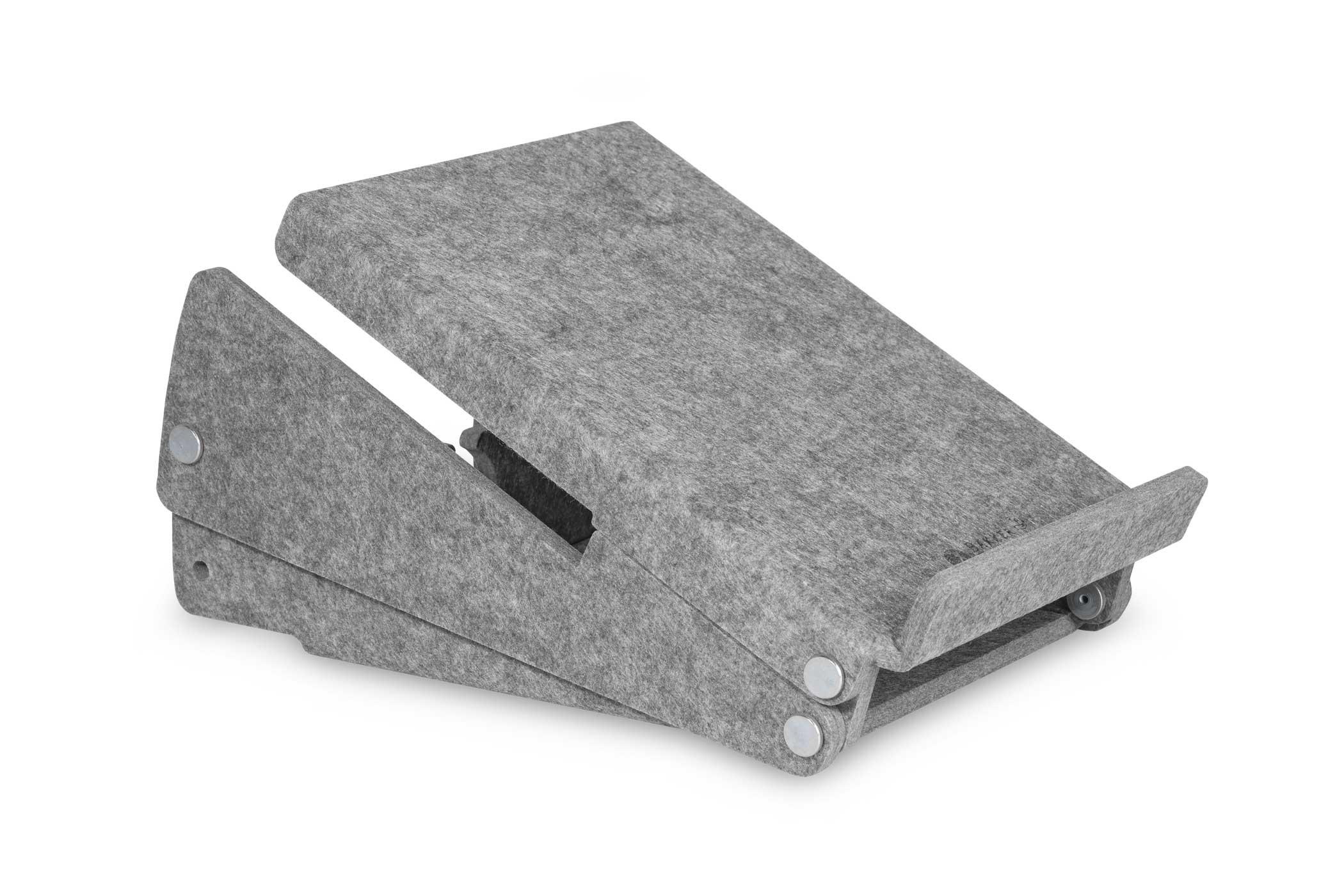 Bakker Ergo-Top 320 Circular - Notebook-Ständer - Grau - 35,6 cm (14 Zoll) - 38,1 cm (15 Zoll) - 140 - 180 mm - 215 mm
