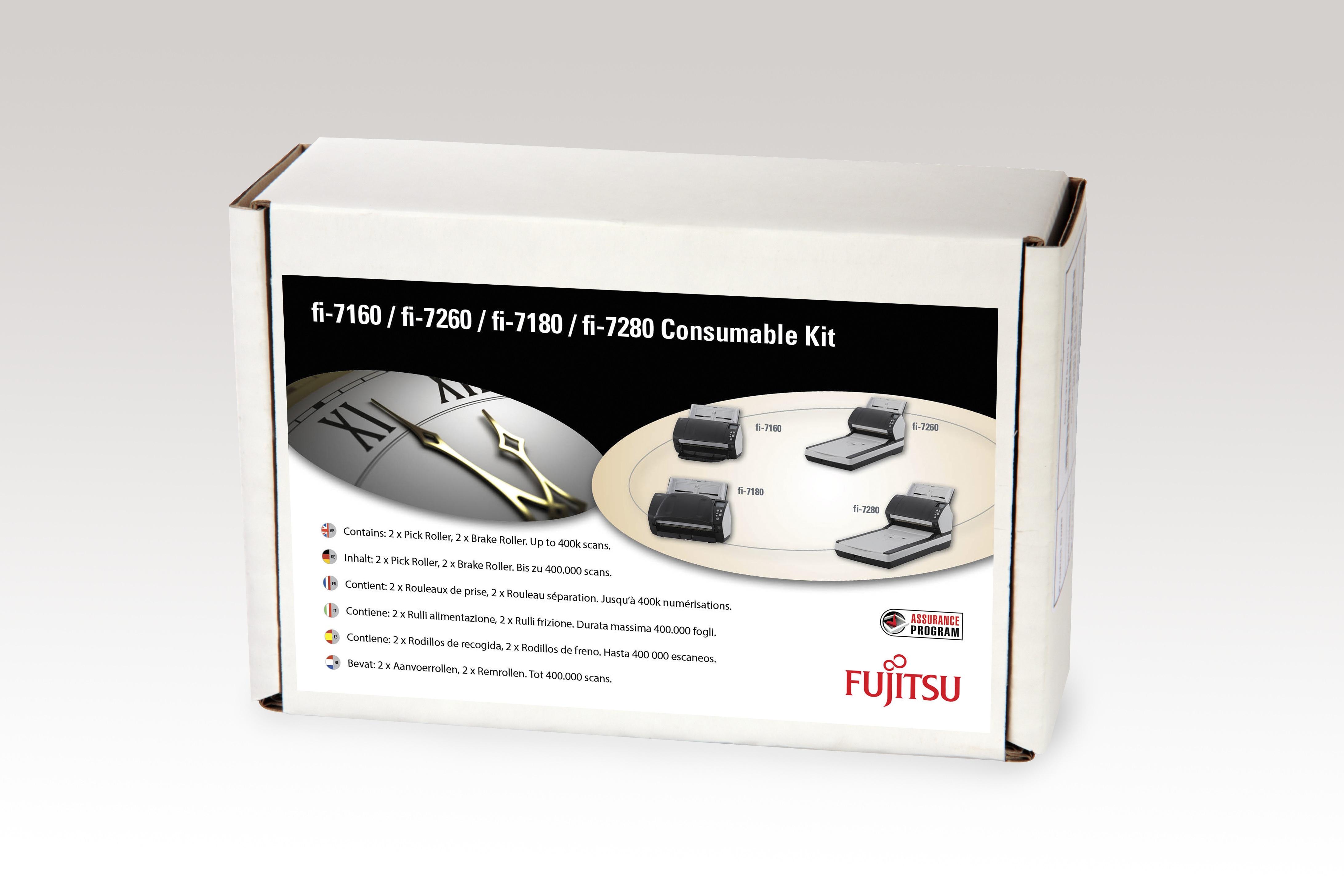 Fujitsu CON-3670-002A Scanner Verbrauchsmaterialienset Drucker-/Scanner-Ersatzteile