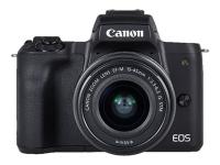 EOS M50 Systemkamera 24,1 MP CMOS 6000 x 4000 Pixel Schwarz