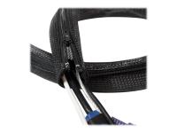 KAB0047 Kabelschutz Schwarz