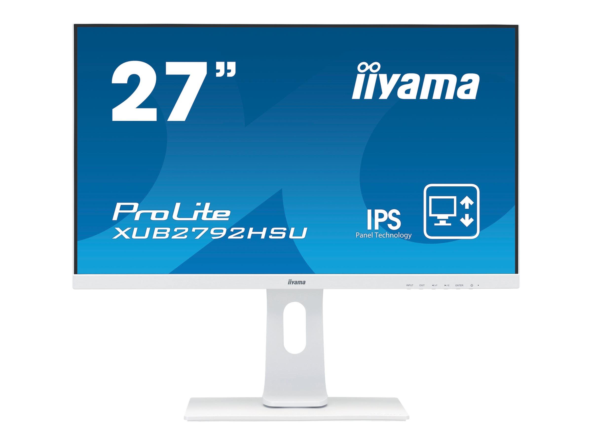 """Vorschau: Iiyama ProLite XUB2792HSU-W1 - LED-Monitor - 68.6 cm (27"""")"""