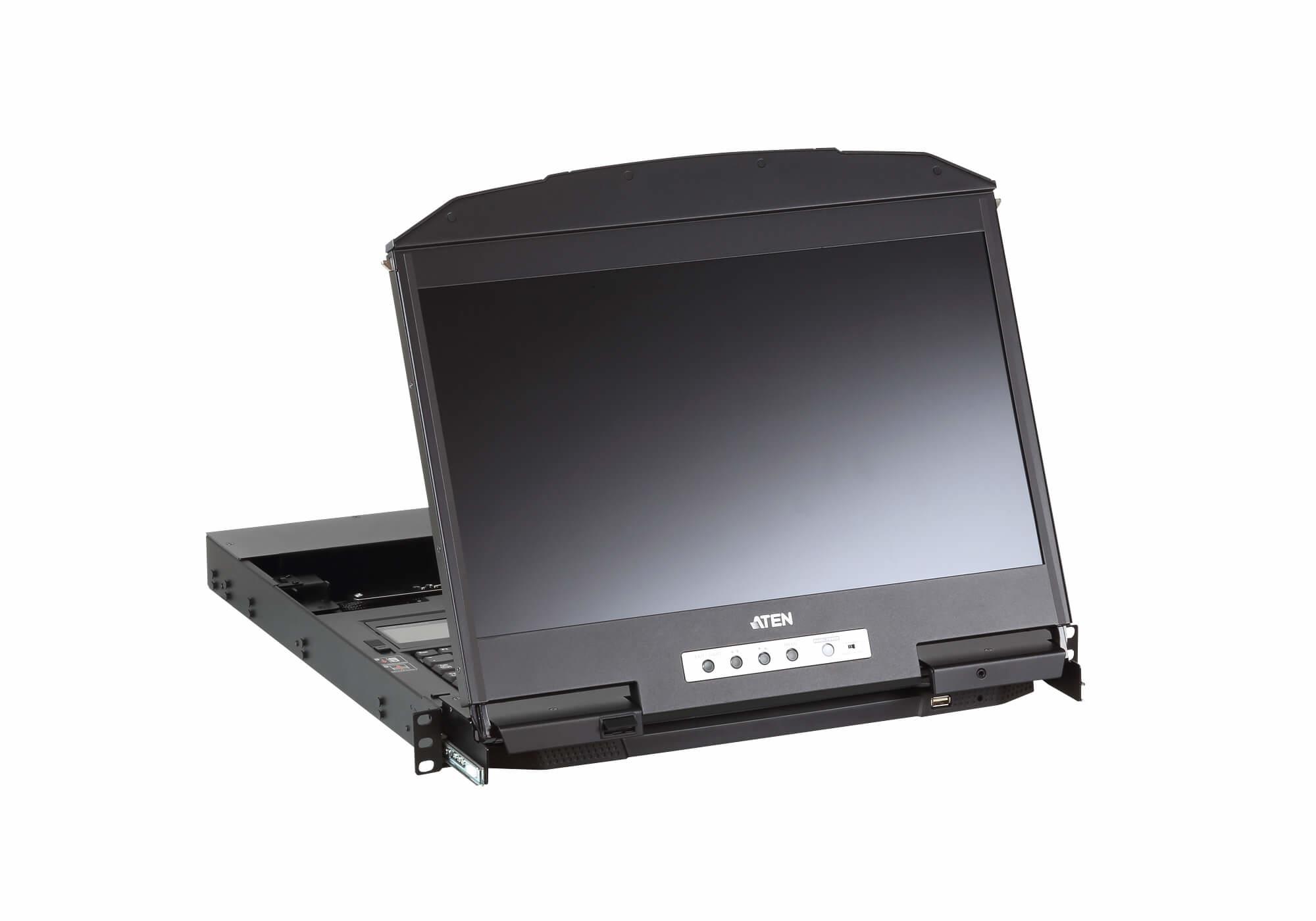 ATEN CL3800NW - 47 cm (18.5 Zoll) - 1920 x 1080 Pixel - 350 cd/m² - 1000:1 - 178° - 178°