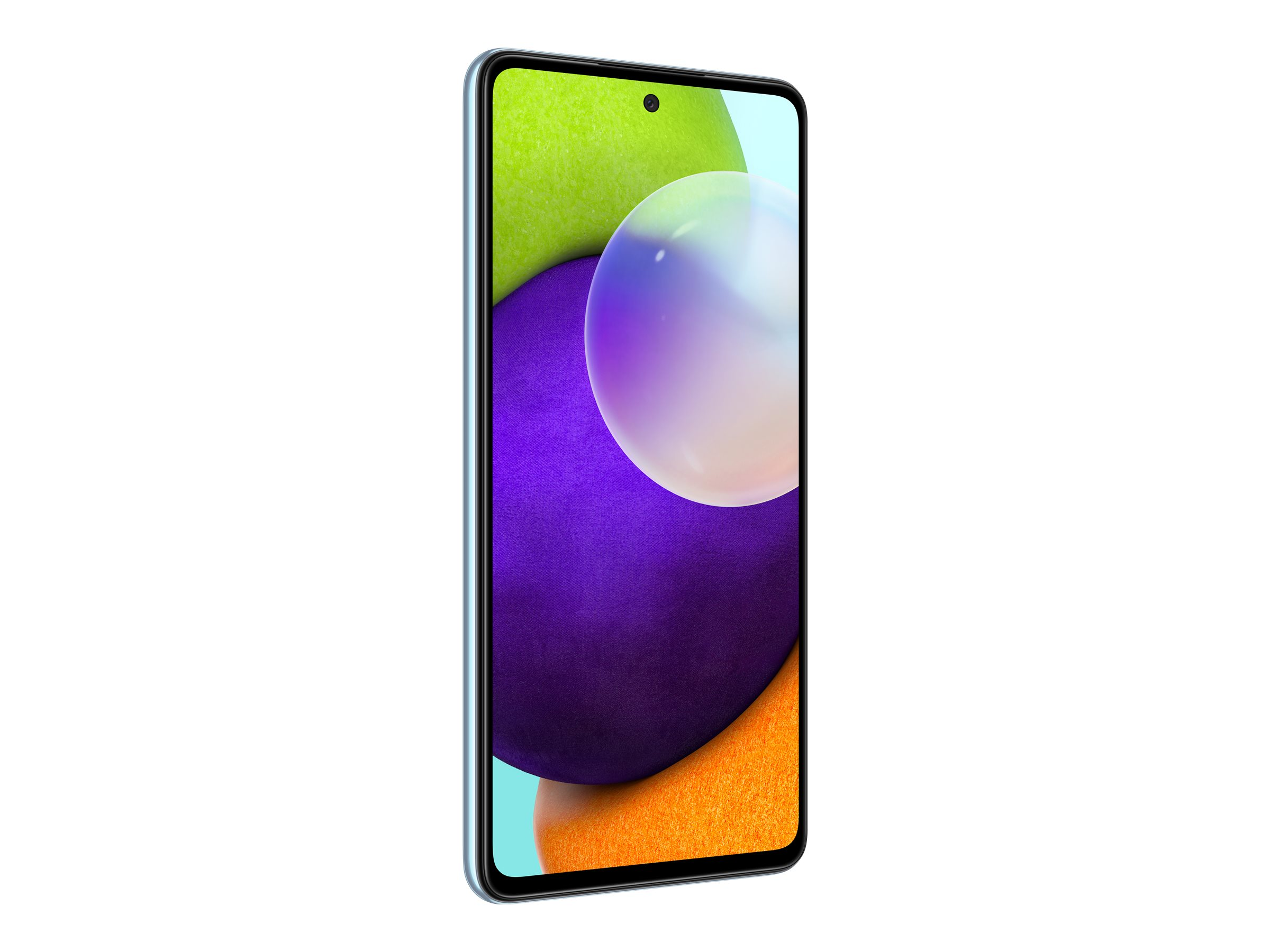 "Samsung Galaxy A52 - Smartphone - Dual-SIM - 4G LTE - 128 GB - microSD slot - 6.5"" - 2400 x 1080 Pixel - Super AMOLED - RAM 6 GB (32 MP Vorderkamera)"
