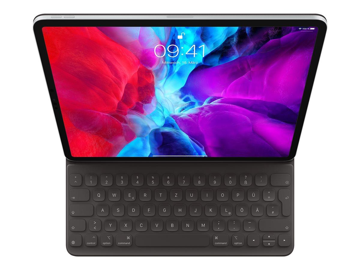 Vorschau: Apple Smart - Tastatur und Foliohülle - Apple Smart connector - QWERTZ - Deutsch - für 12.9-inch iPad Pro (3. Generation, 4. Generation)