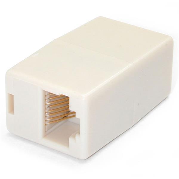 StarTech.com Cat5e Netzwerk Kupplung - RJ45 Doppelkupplung - Modular Koppler - Buchse / Buchse - 10er Pack