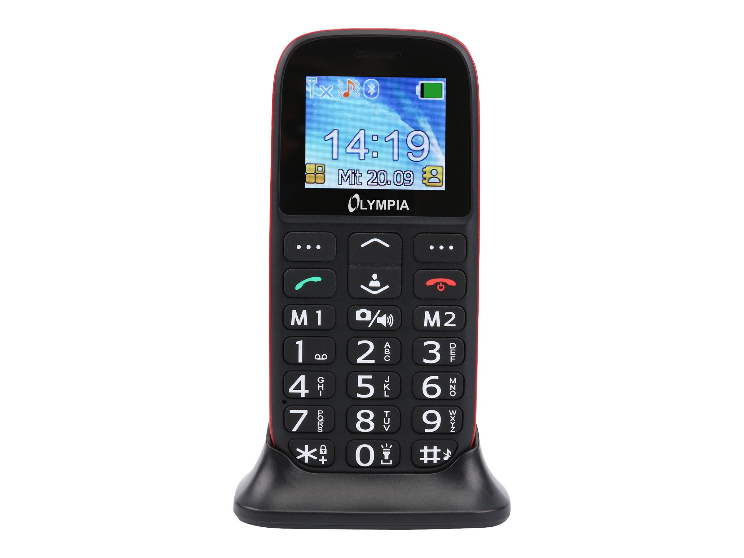 Olympia BELLA - Mobiltelefon - microSDHC slot