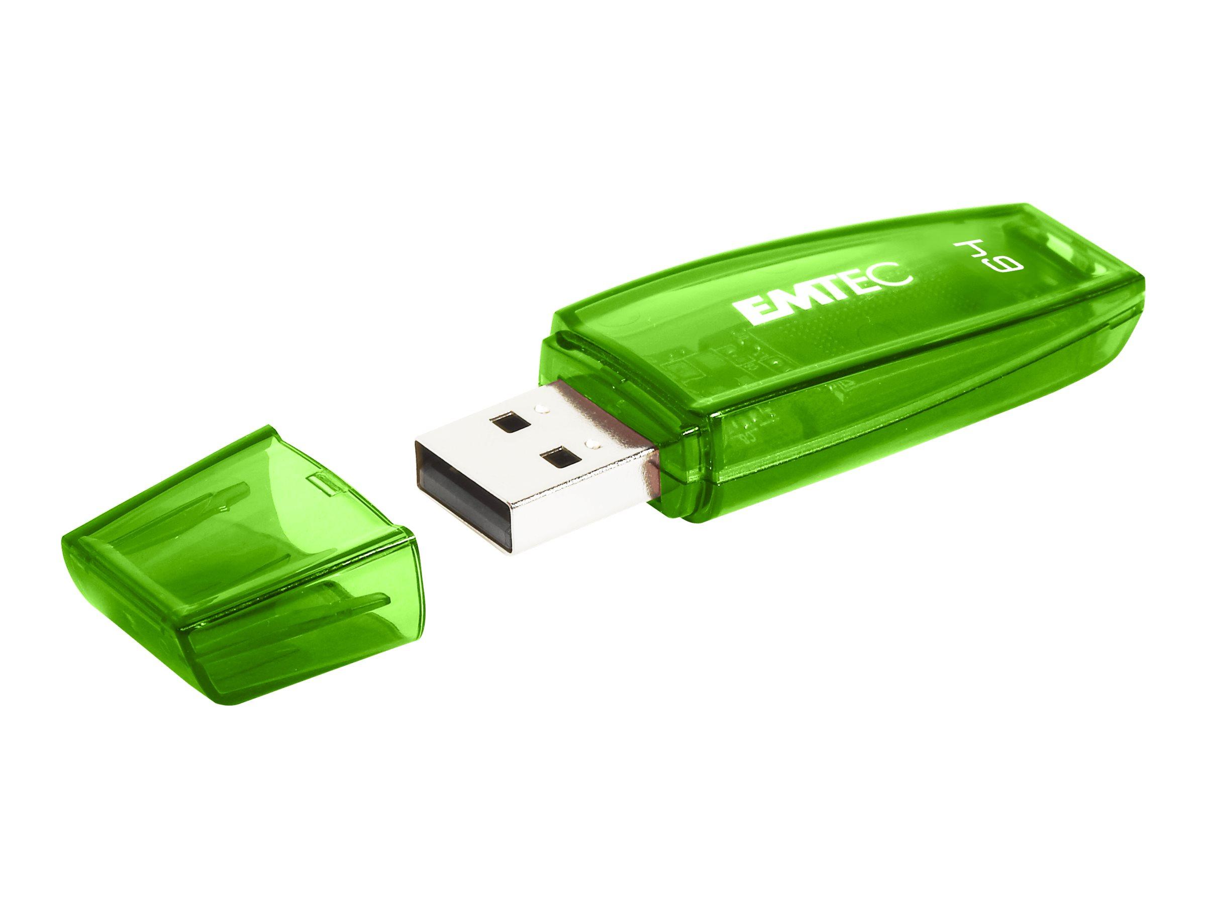 EMTEC Color Mix C410 - USB-Flash-Laufwerk - 64 GB