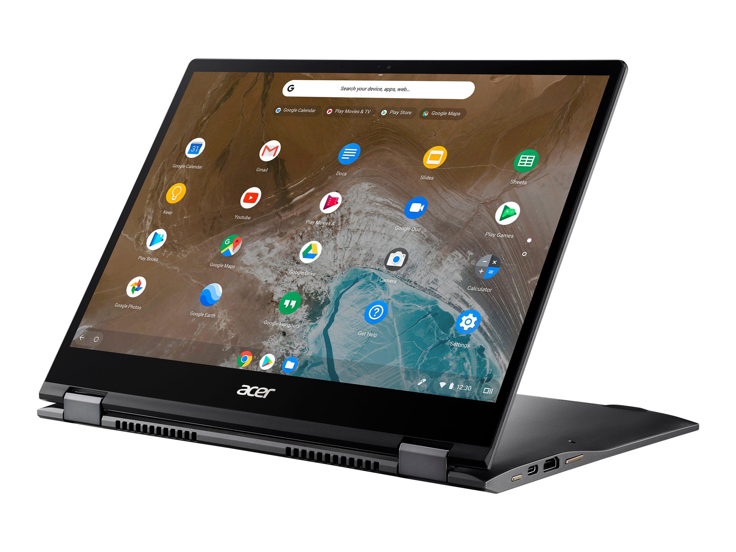 """Acer Chromebook Spin 713 CP713-2W-53AW - Flip-Design - Core i5 10210U / 1.6 GHz - Chrome OS - 16 GB RAM - 256 GB SSD - 34.3 cm (13.5"""")"""