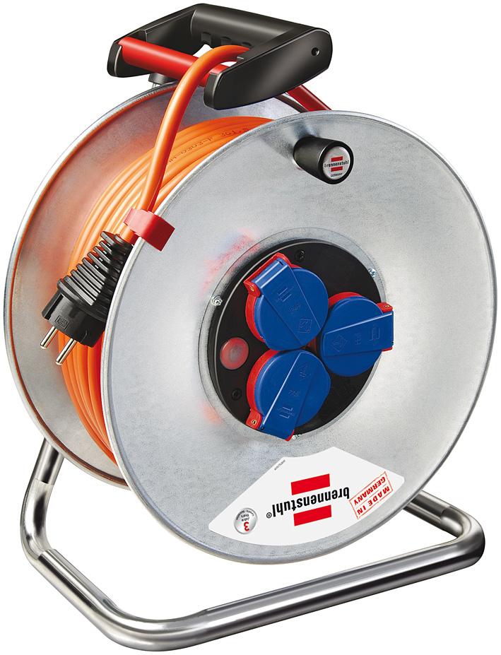 Brennenstuhl Garant S IP44 cable reel 25m AT-N07V3V3-F 3G2,5