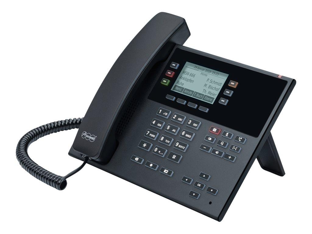 Auerswald COMfortel D-200 - Digitaltelefon - SIP, RTP, SRTP