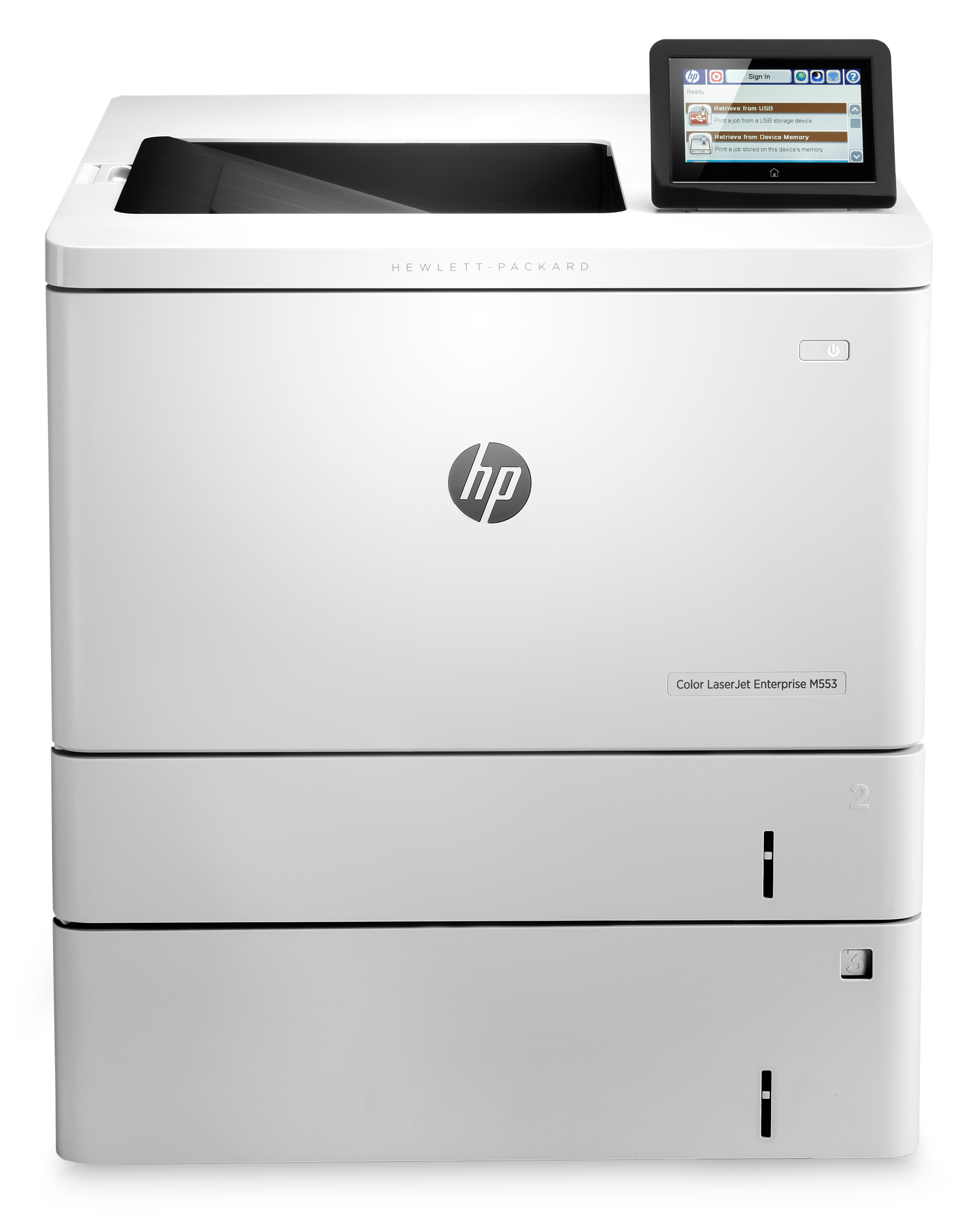 HP Color LaserJet Enterprise M553x, Farblaser, A4