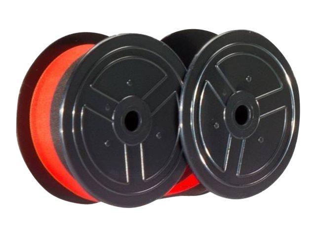 KMP Schwarz / Rot - 13 mm x 6 m - Farbband