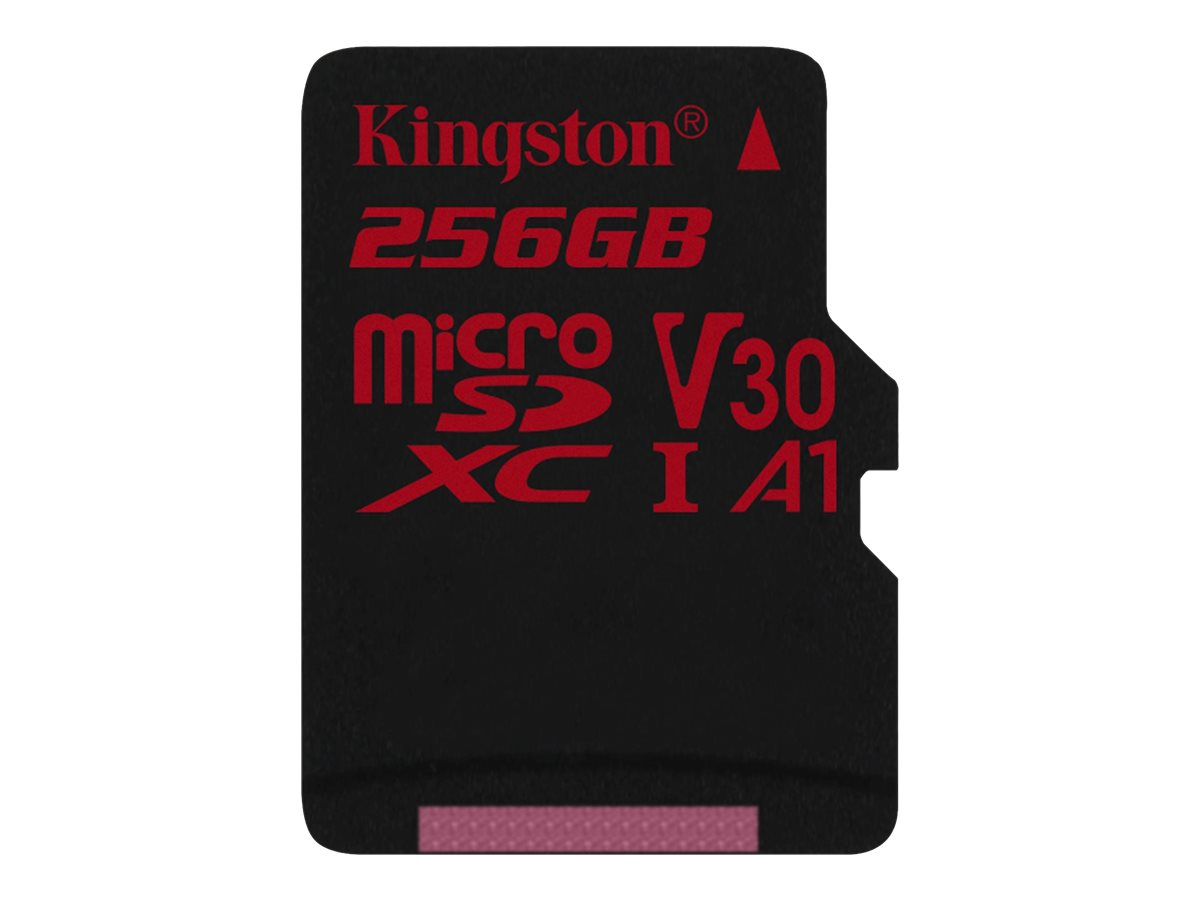 Kingston-Canvas-React-256-GB-MicroSDXC-Class-10-UHS-I-100-MB-s-80-SDCR-256GB