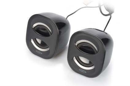Ednet 83172 6W Schwarz Lautsprecher