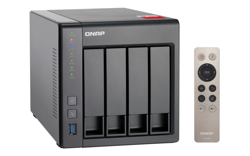 QNAP TS-451+ - NAS-Server - 4 Schächte - 8 TB