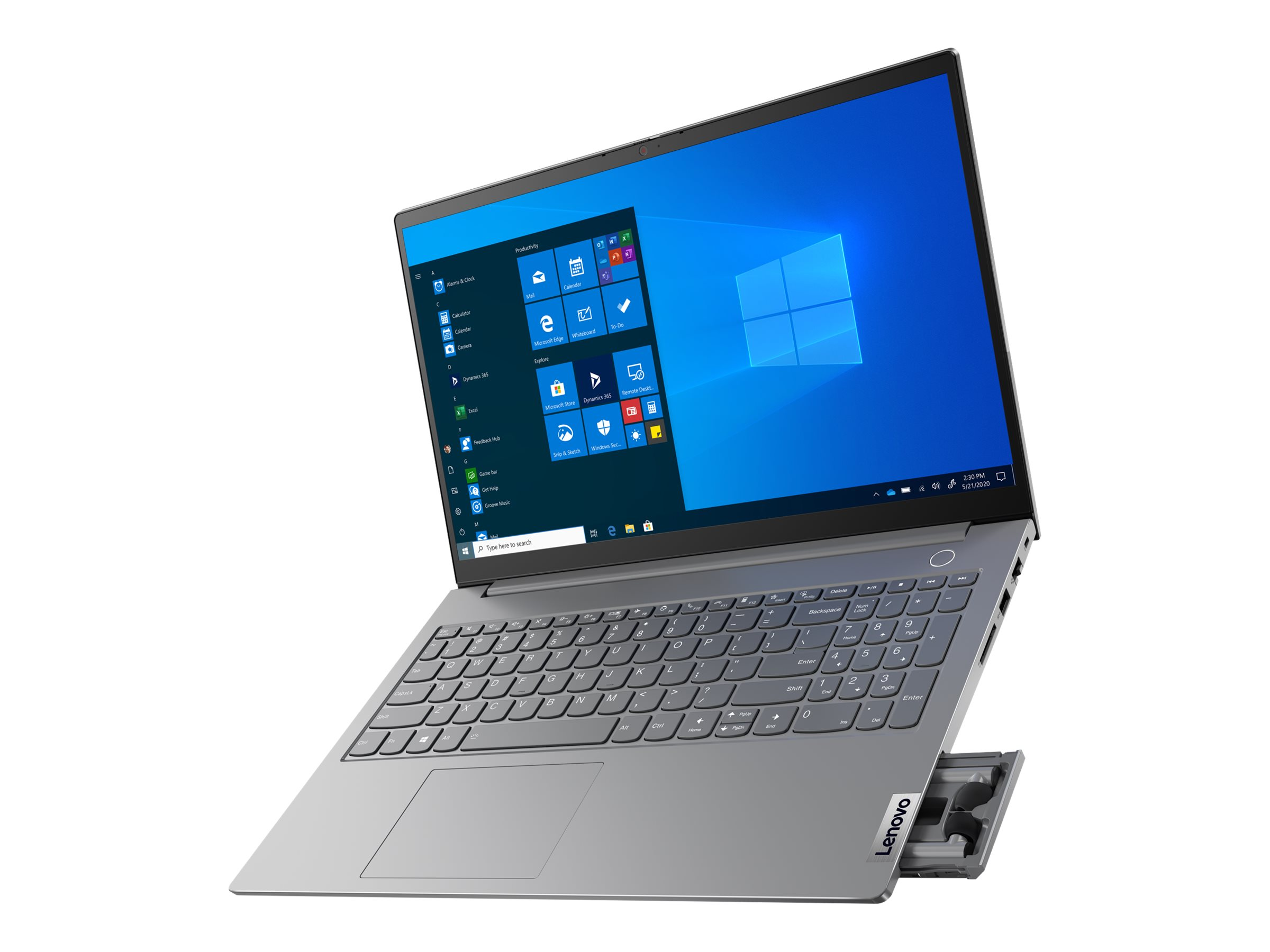 "Lenovo ThinkBook 13x ITG 20WJ - Core i7 1160G7 / 2.1 GHz - Evo - Win 10 Pro 64-Bit - 16 GB RAM - 512 GB SSD NVMe - 33.8 cm (13.3"")"