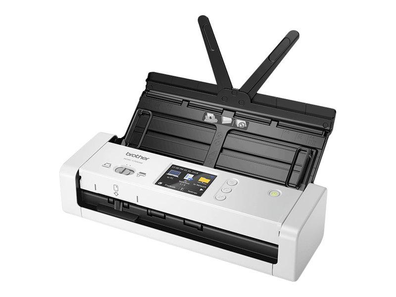 Brother ADS-1700W - Dokumentenscanner - Duplex - A4 - 600 dpi x 600 dpi - bis zu 25 Seiten/Min. (einfarbig)