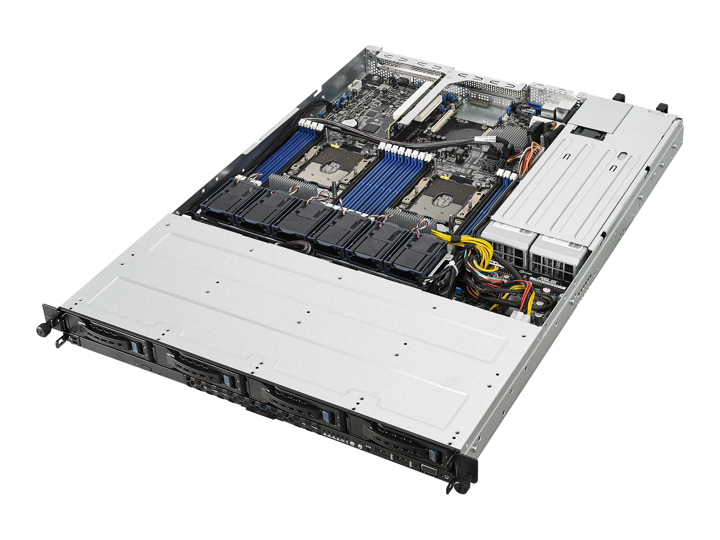 "ASUS RS500-E9-RS4-U - Server - Rack-Montage - 1U - zweiweg - keine CPU - RAM 0 GB - SATA - Hot-Swap 6.4 cm, 8.9 cm (2.5"", 3.5"")"