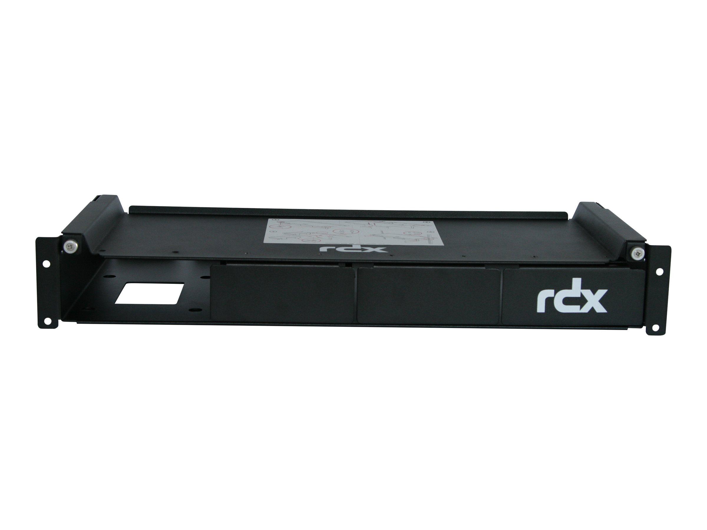 Overland-Tandberg RDX QuadPAK - Rackmontagesatz - Kapazität: 4 RDX Laufwerke