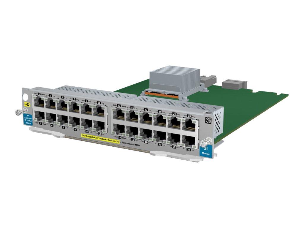 HP 24-port 10/100 PoE+ v2 zl Module (J9547A)