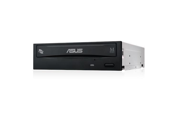 "ASUS DRW-24D5MT - Laufwerk - DVD±RW (±R DL) / DVD-RAM - 24x24x5x - Serial ATA - intern - 5.25"" (13.3 cm)"