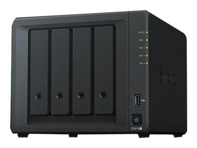 Synology Disk Station DS918+ - NAS-Server - 4 Schächte
