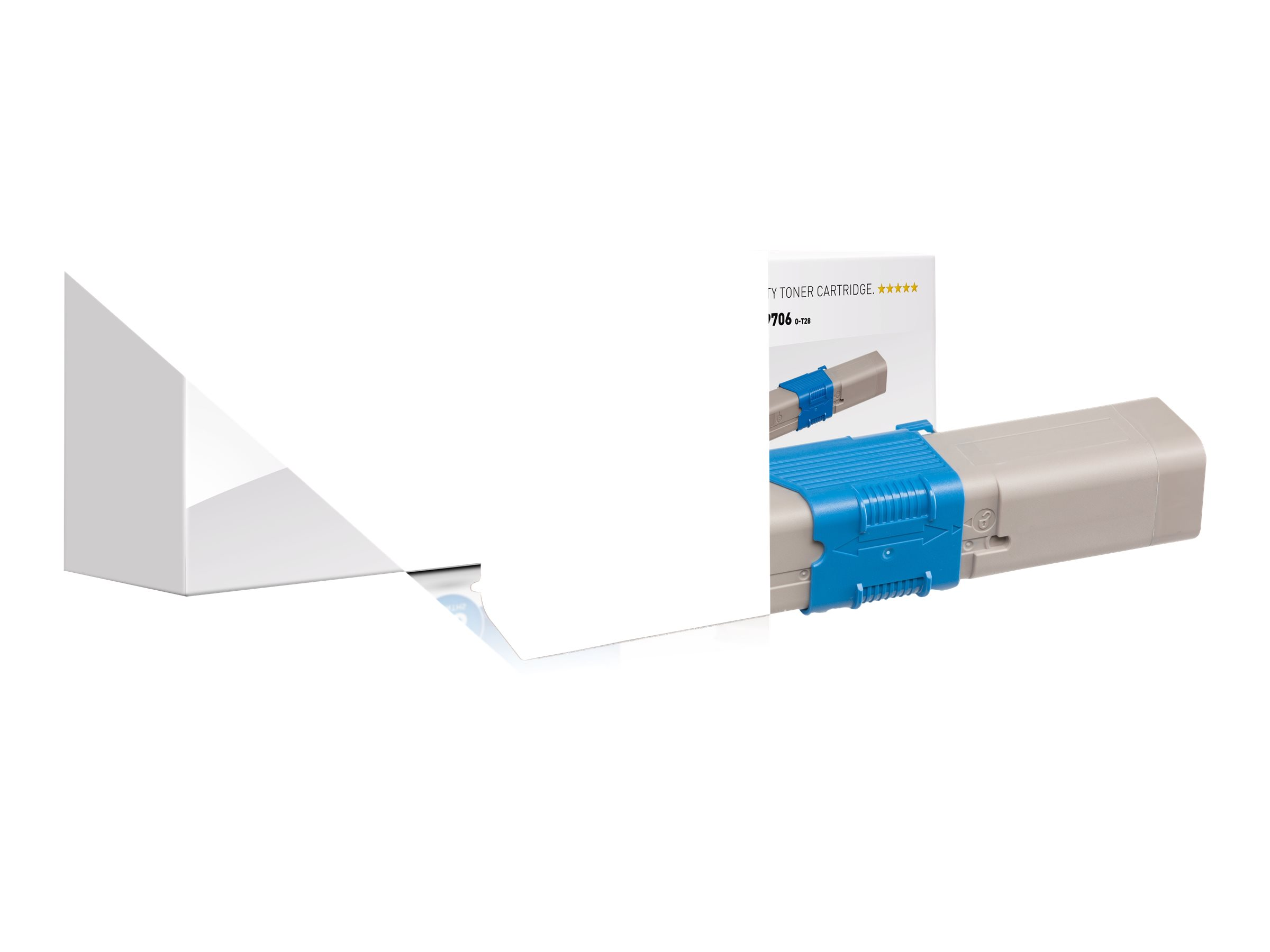 Vorschau: KMP O-T28 - 50 g - Cyan - compatible - Tonerpatrone