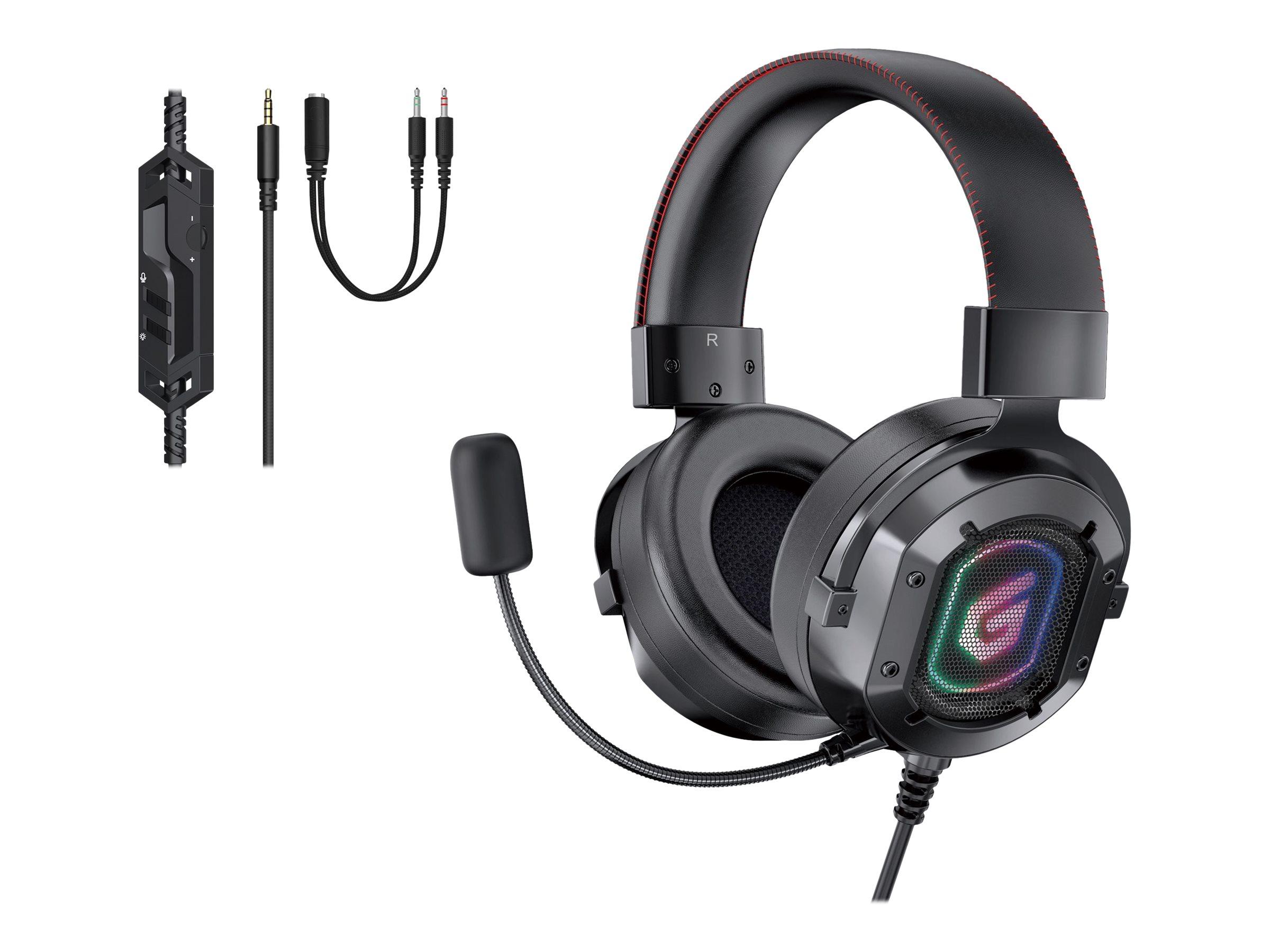 Conceptronic ATHAN03B - Headset - ohrumschließend