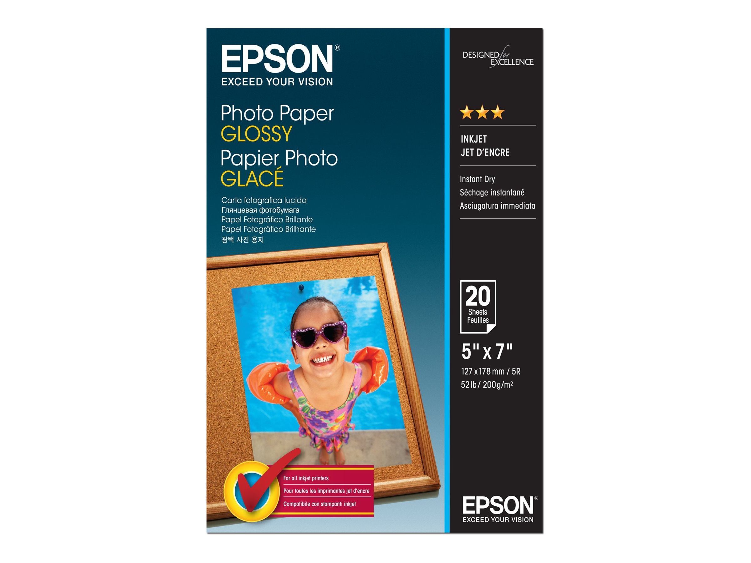 Epson Glänzend - 127 x 178 mm