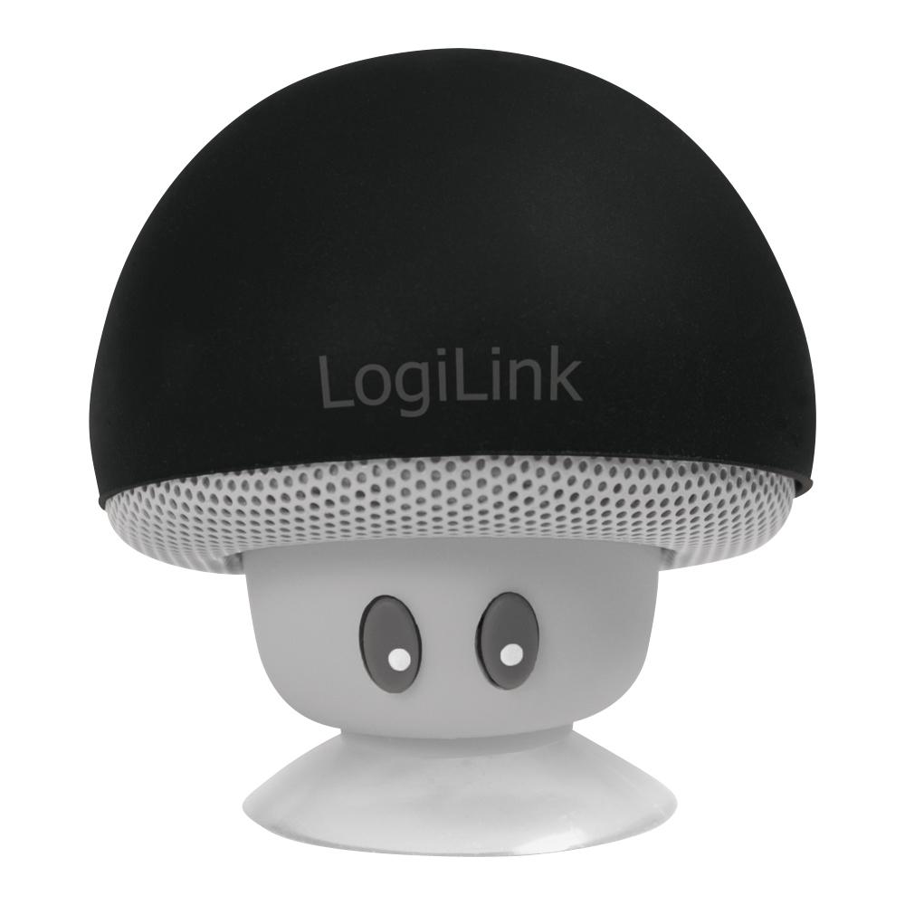 LogiLink SP0054BK - 4 cm - 3 W - 4 Ohm - 65 dB - Kabellos - 2.1+EDR