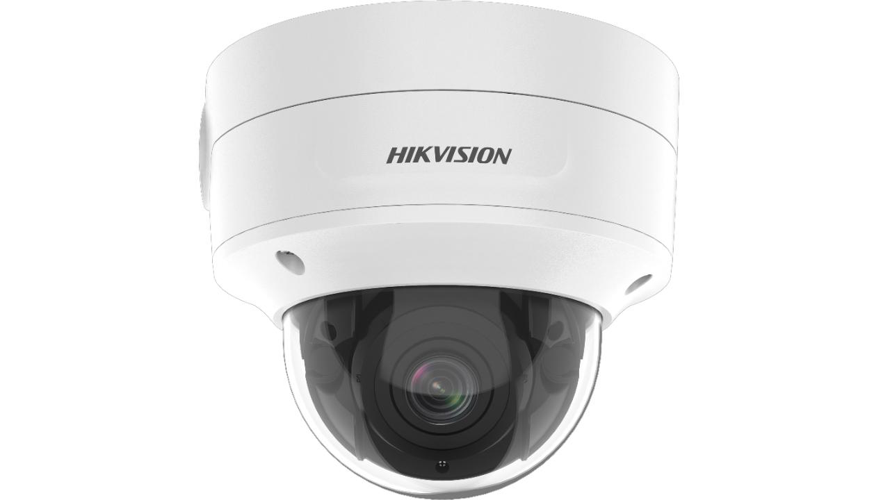 Vorschau: Hikvision DS-2CD2746G2-IZS - IP-Sicherheitskamera - Outdoor - Verkabelt - FCC (47 CFR 15 - B); CE-EMC (EN 55032: 2015 - EN 61000-3-2: 2014 - EN 61000-3-3: 2013 - EN 50130-4:... - Kuppel - Decke/Wand