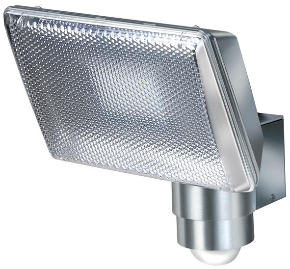Brennenstuhl 1173350 - Wandbeleuchtung für den Außenbereich - Metallisch - Aluminium - IP44 - Garten - Bewegungssensor