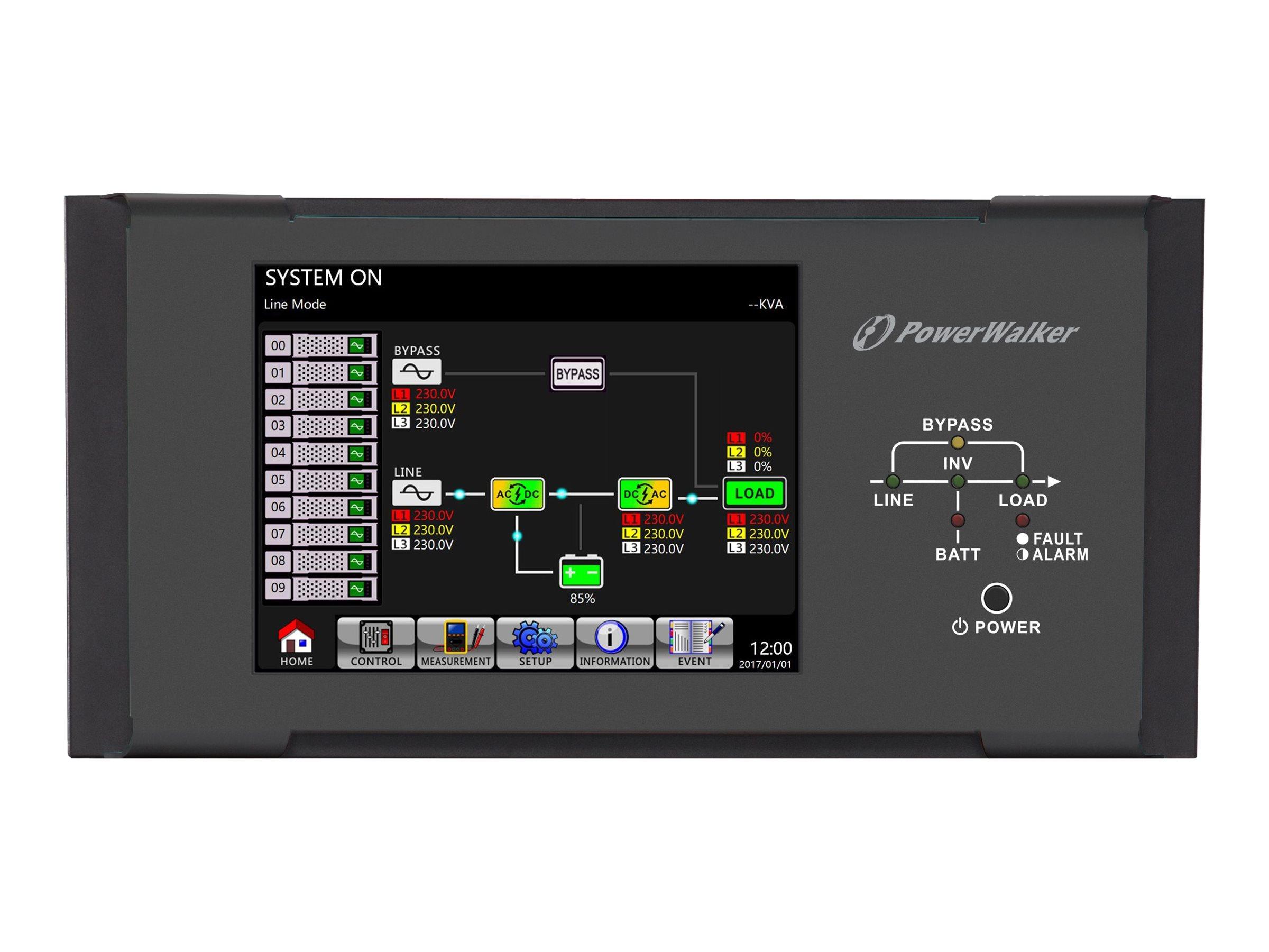 "Bluewalker PowerWalker - LCD Anzeige - Gestell - 25.4 cm (10"")"