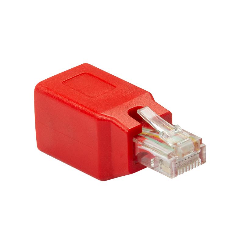 LogiLink NP0059 - RJ-45 - RJ-45 - Männlich/Weiblich - Rot