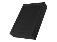 IB-256WP 2.5 Zoll HDD / SSD-Gehäuse Schwarz