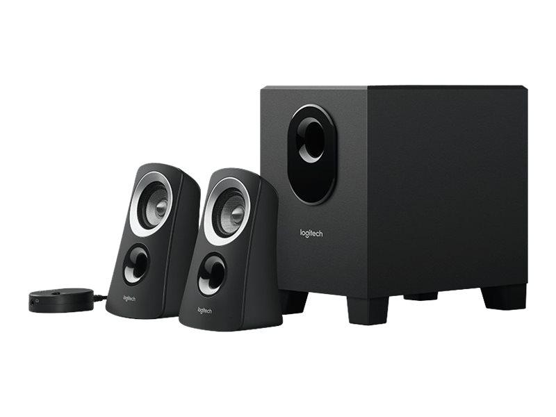 Logitech Z-313 - Lautsprechersystem - für PC - 2.1-Kanal - 25 Watt (Gesamt)
