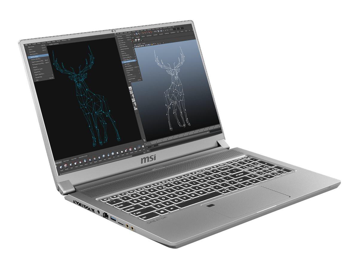 """Vorschau: MSI Creator 17 A10SFS-269 - Core i7 10875H / 2.3 GHz - Win 10 Pro - 32 GB RAM - 1 TB SSD NVMe - 43.9 cm (17.3"""")"""
