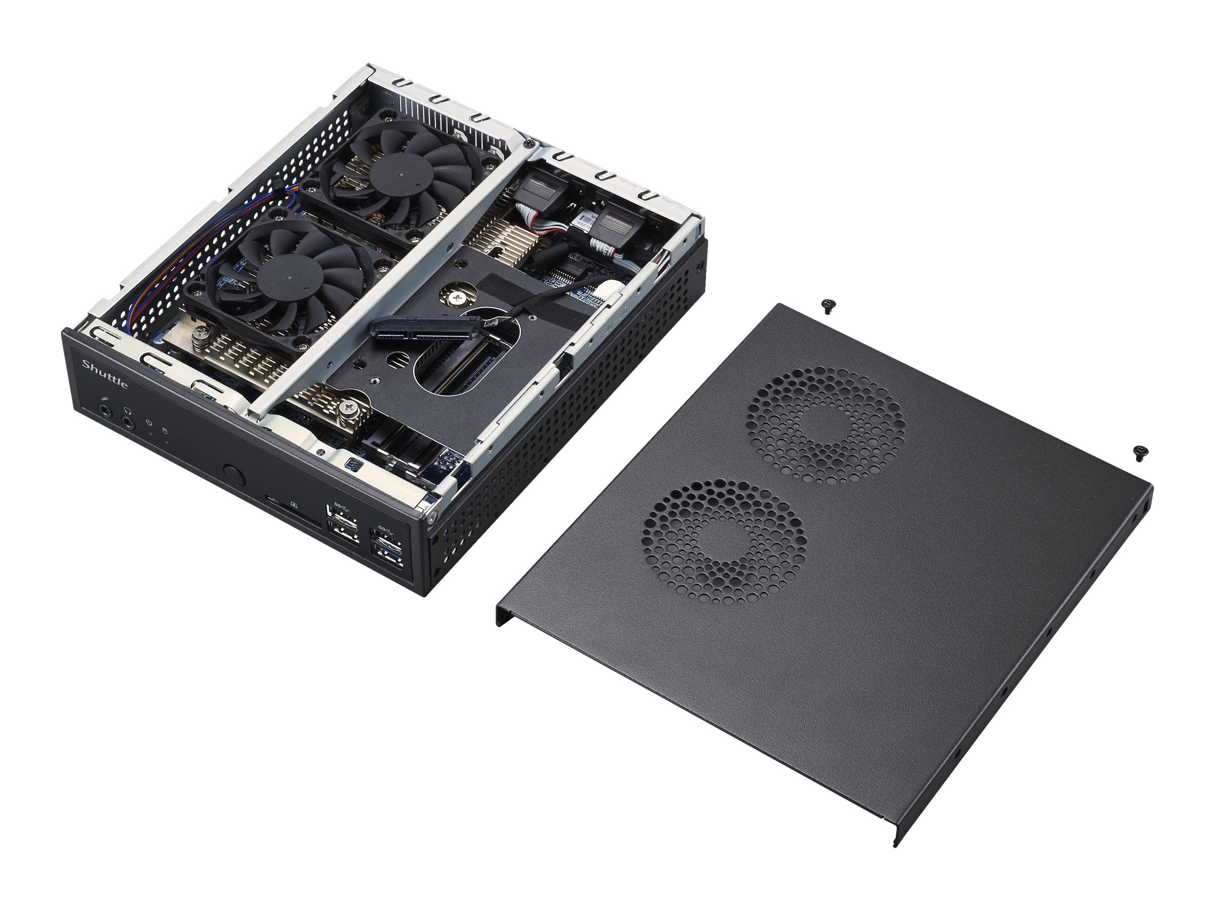 Shuttle XPC slim DA3200XA - Slim-PC - Ryzen 5 3400G / 3.7 GHz